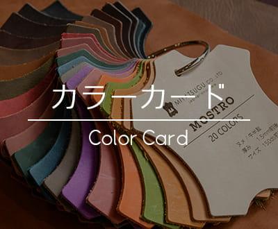 カラーカード(見本帳)